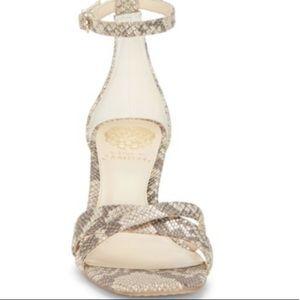 NEW Vince Camuto Snakeskin Heels